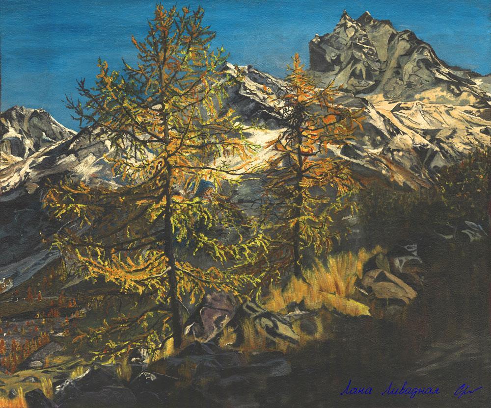 """Осенний Канадский пейзаж"", холст, масло."