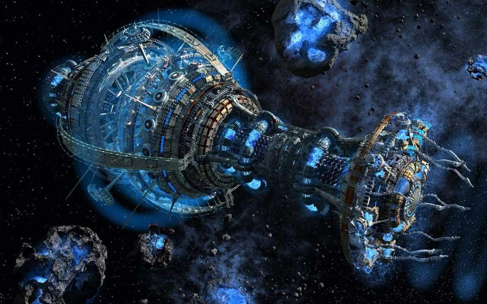 «Пояс астероидов». Автор Николай Плутахин.