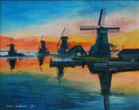 Мельницы Нидерланды